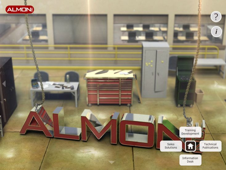 Almon Virtual Garage App Demo Homepage