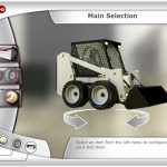 Animation App UI Skid Steer