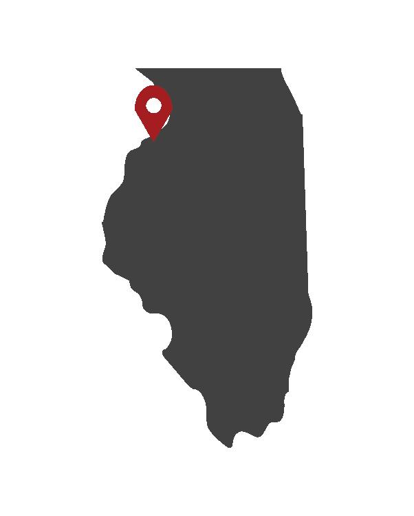 Almon Inc Illinois Map Location