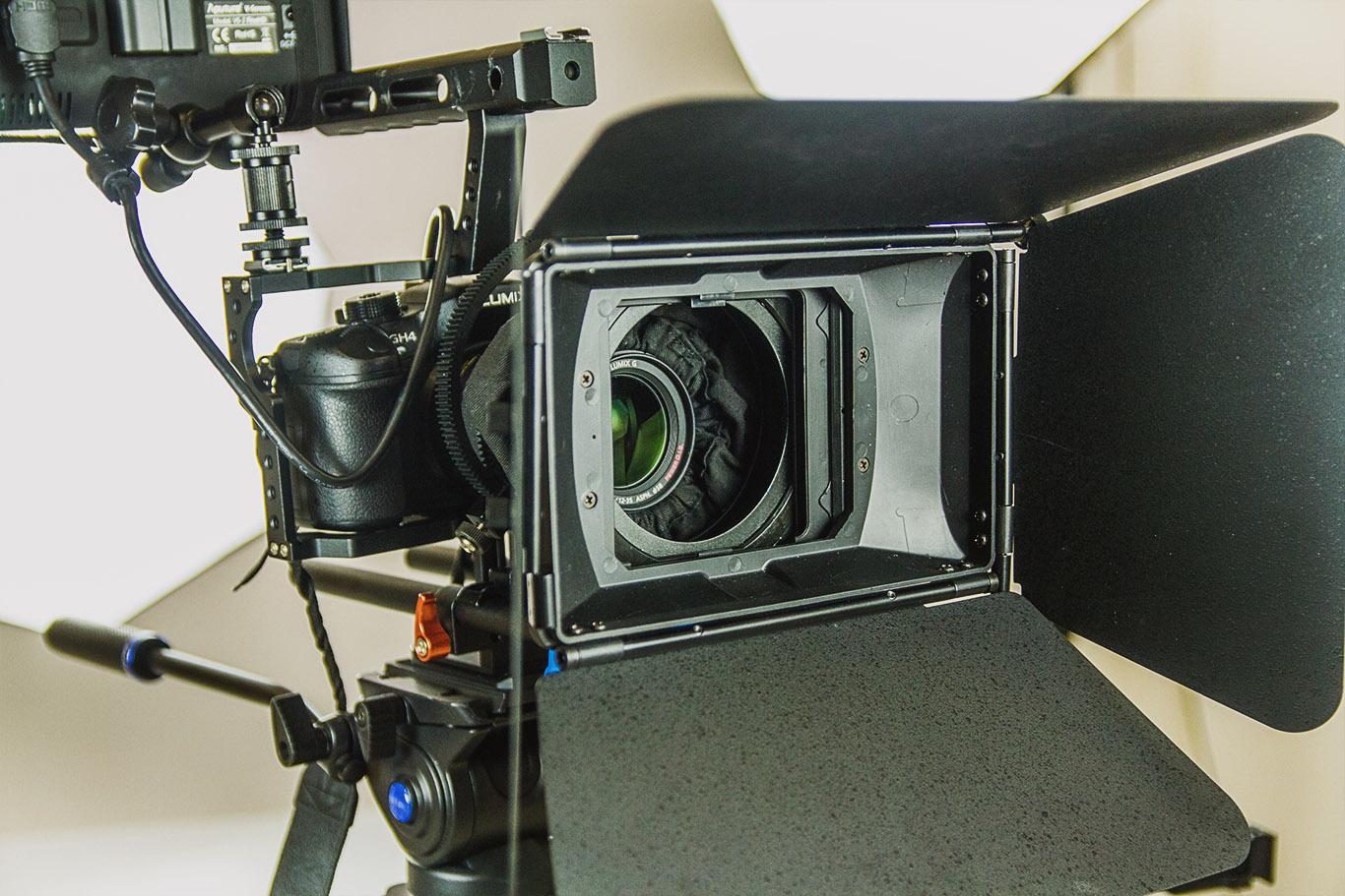 Video Production Camera Closeup 2