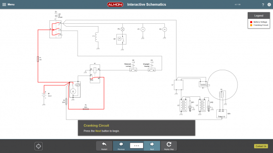 Interactive Schematics Demo Preview