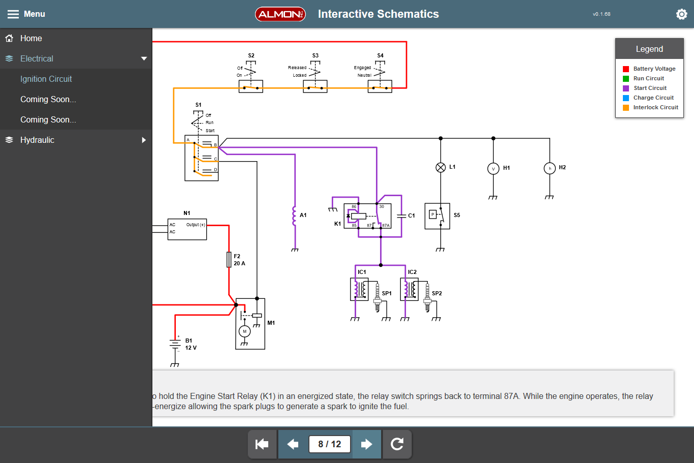 Interactive Schematics