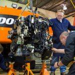Doosan Engine Removal