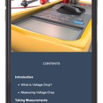 Kohler Mobile Application Voltage Drop