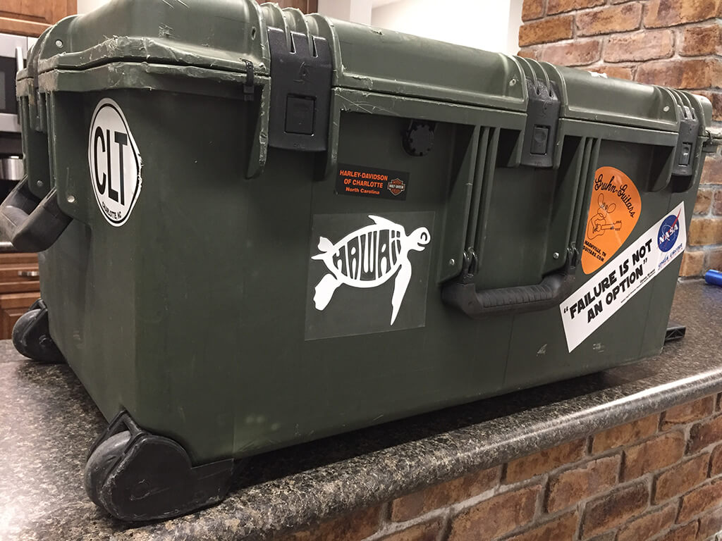 almon training equipment case
