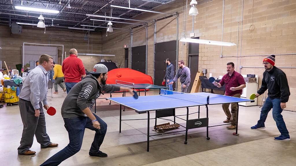 almon taf ping pong squad
