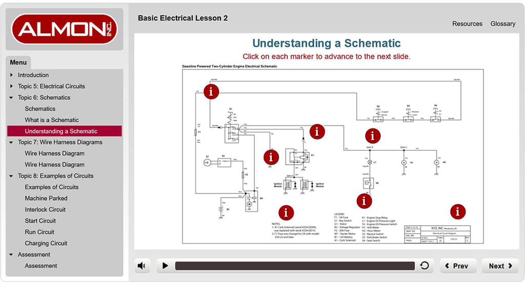 eLearning - Basic Electrical 2 - Off-the-Shelf at Almon Inc. on